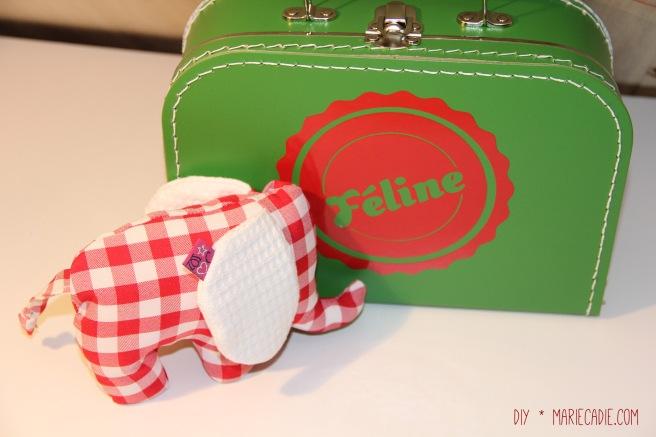 DIY MarieCadie.com koffertje olifant 2