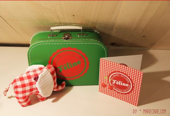 DIY MarieCadie.com koffertje olifant