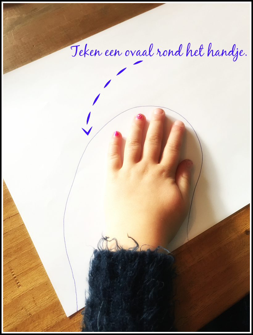 MarieCadie.com Lila dress hack_teken hand patroon