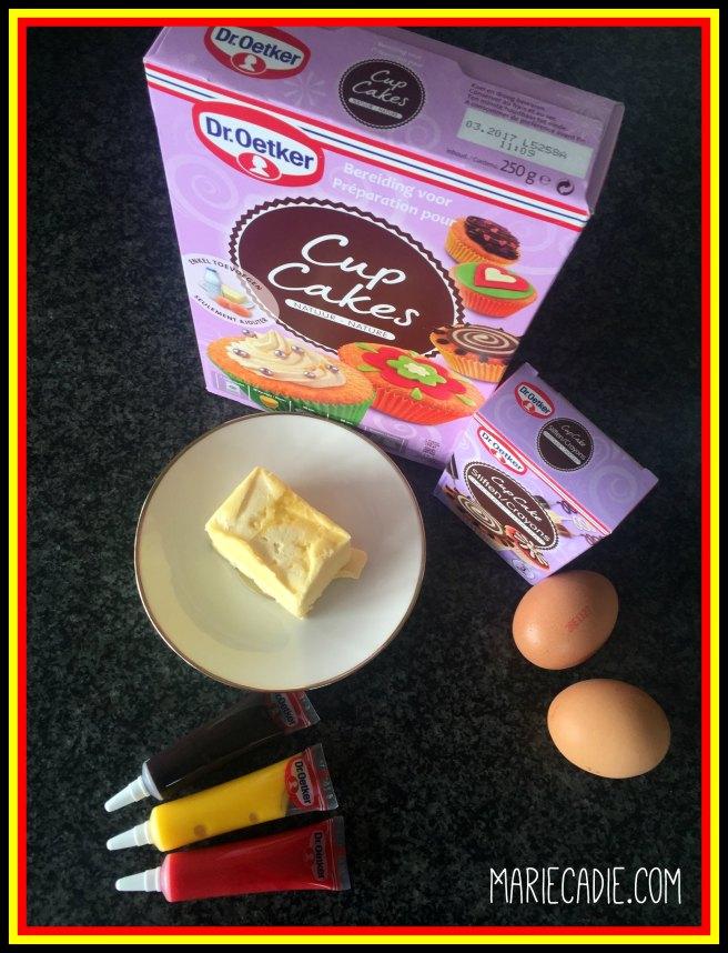MarieCadie.com Dr Oetker cupcakes2