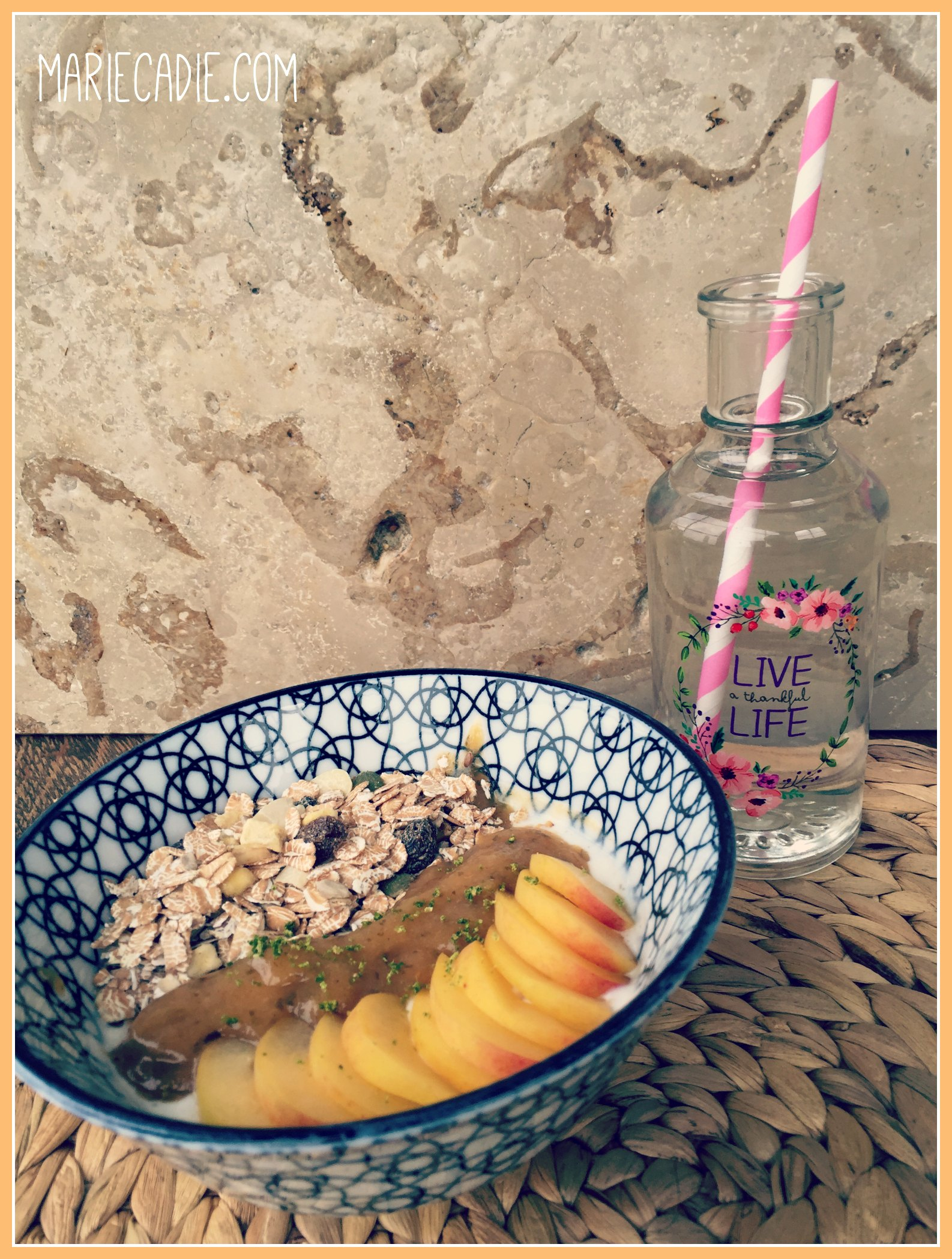 Mariecadie.com muntgelei breakfast