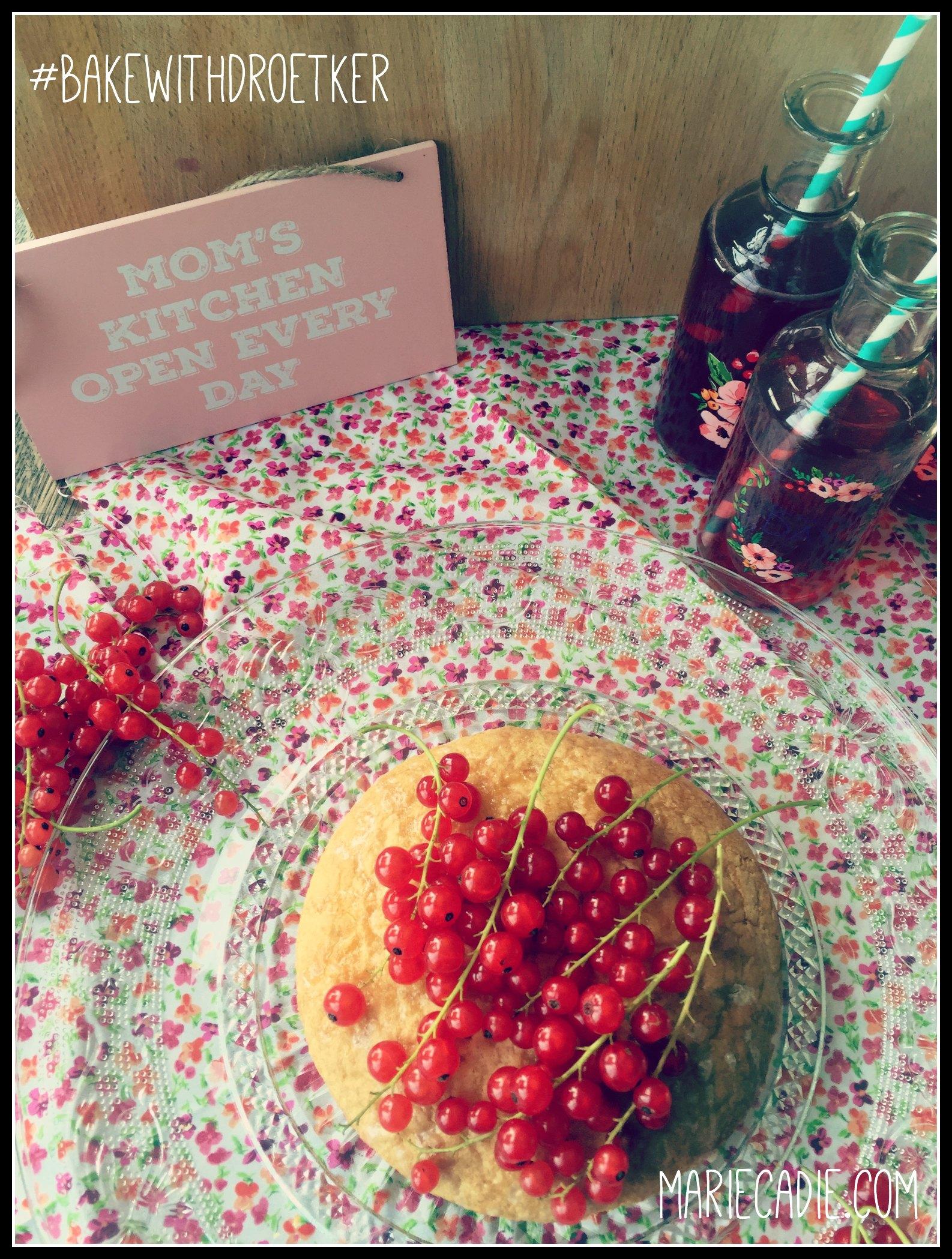 MarieCadie.com rode besjes cake 2  DrOetker