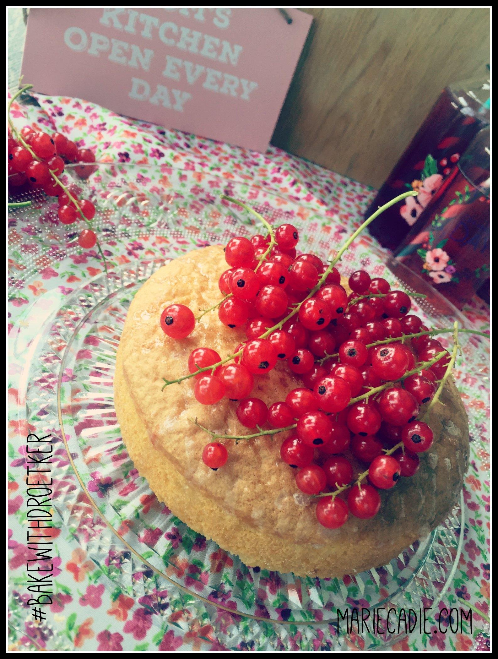 MarieCadie.com rode besjes cake  DrOetker