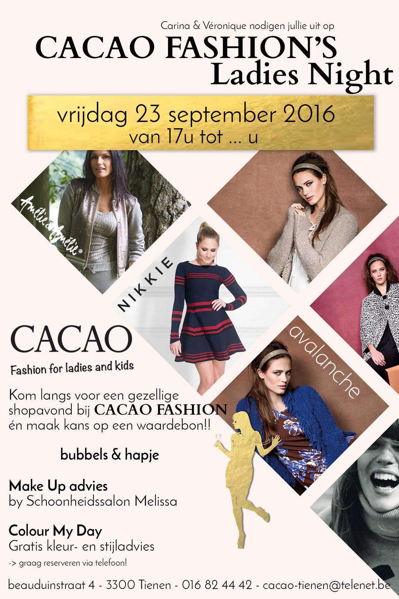 flyer-ladies-night-cacao-fashion_3-bubbels-en-hapje