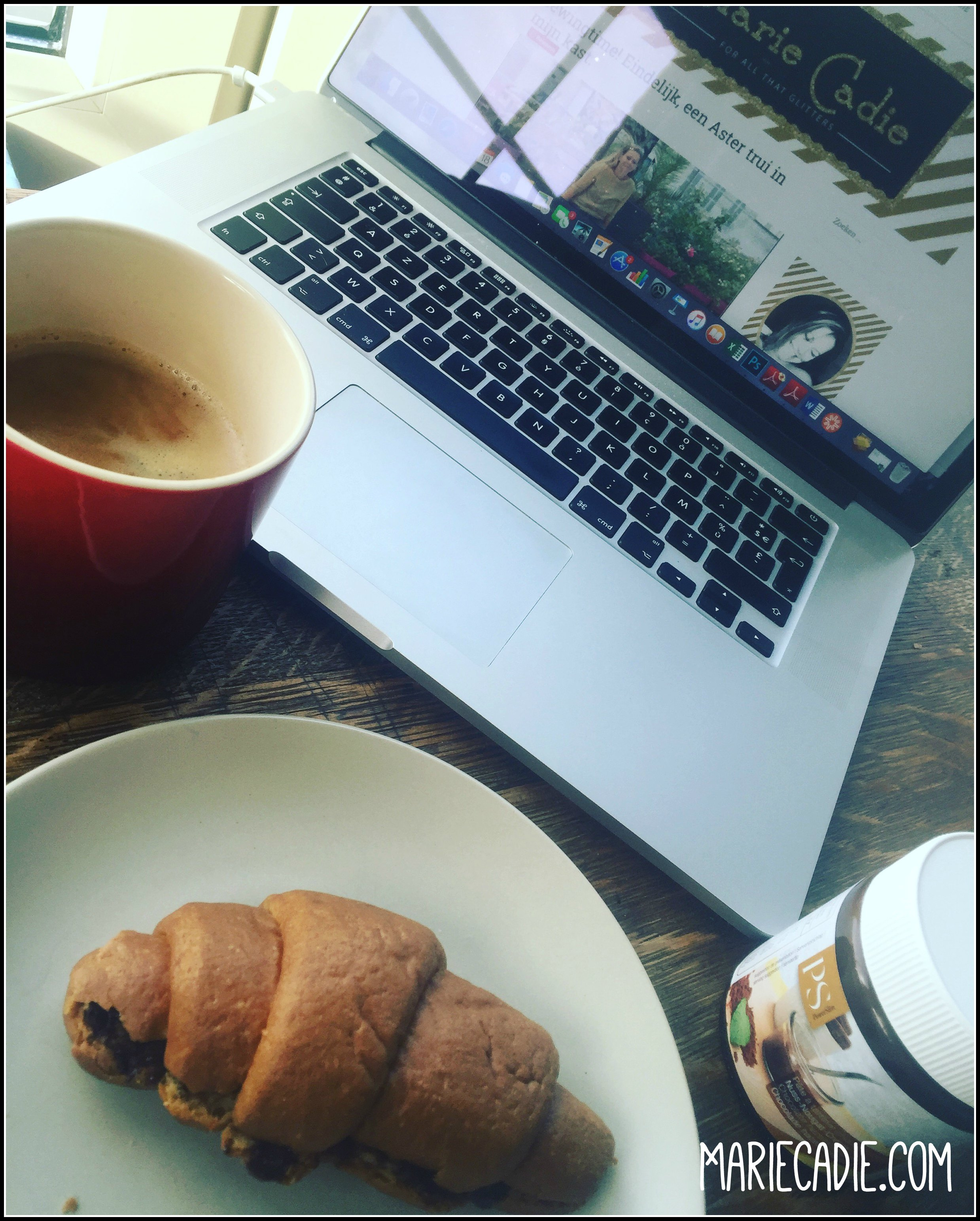 MarieCadie.com Powerslim ontbijt croissant choco.jpg