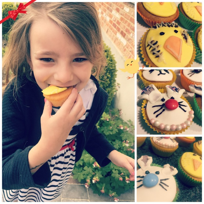MarieCadie paascupcakes collage 3